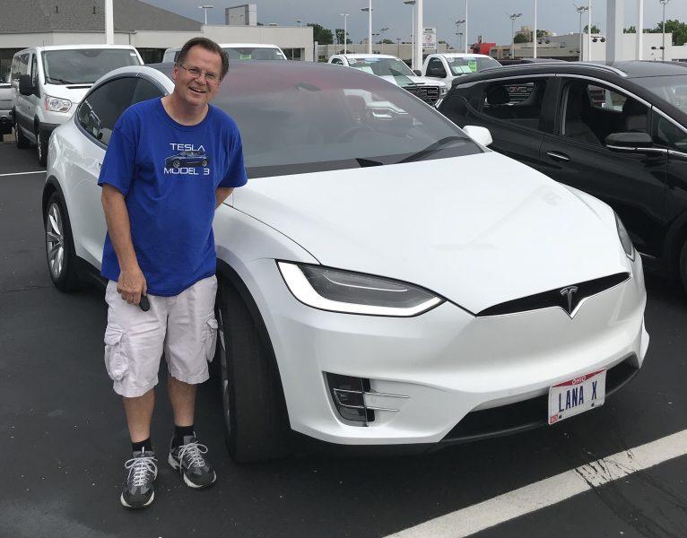 Tesla Model X – Jim Kelly