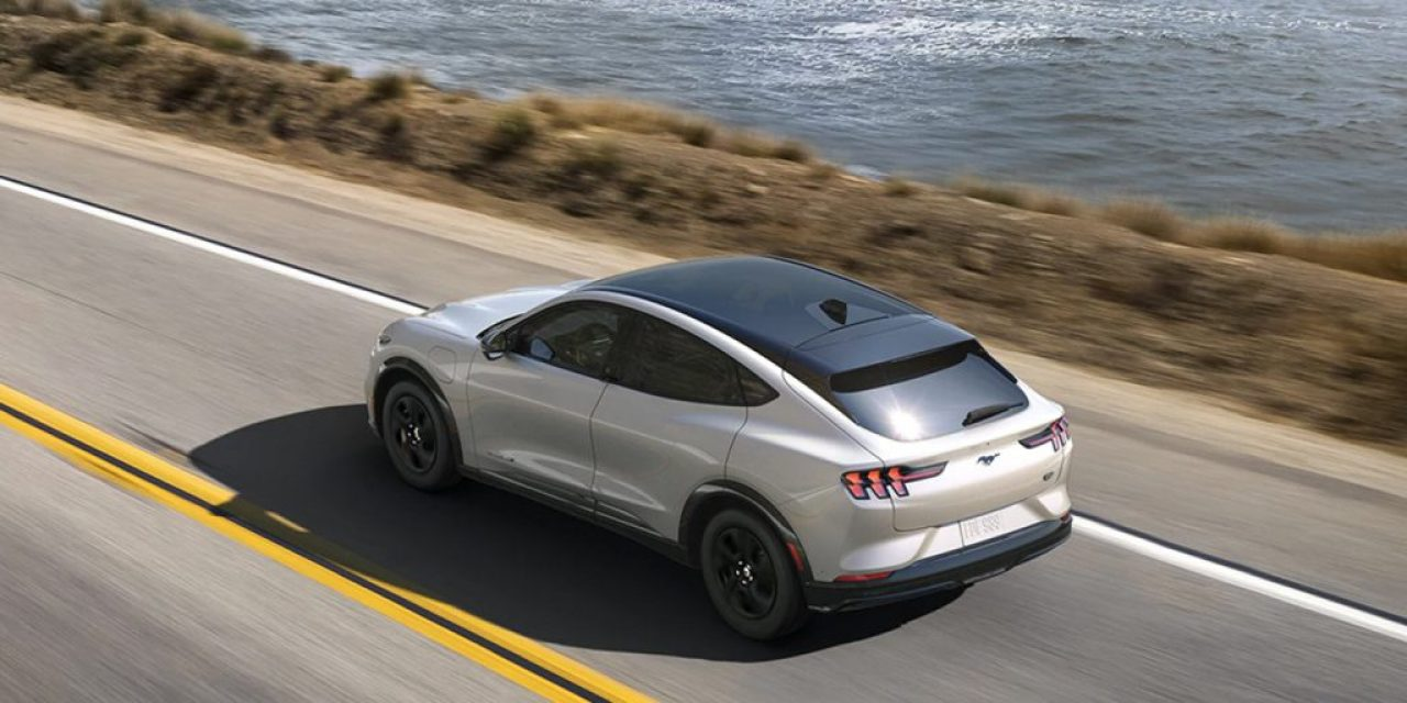 Ford-Mach-E-CA-Route-1 from Electrek