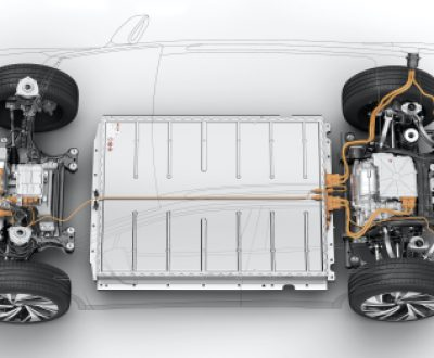 Volkswagen ID.4 battery shared by Drive Electric Dayton