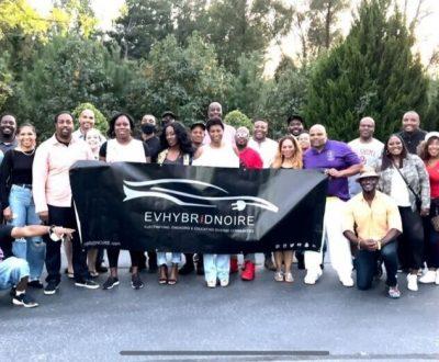 EVHybridNoire members at the Atlanta NDEW event